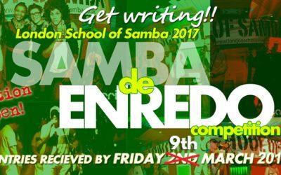 Samba de Enredo Competition 2018