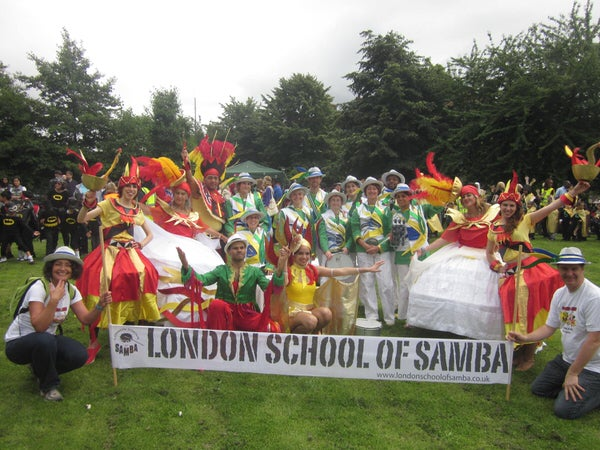 2012 Waterloo Carnival - Photo of the London School of Samba